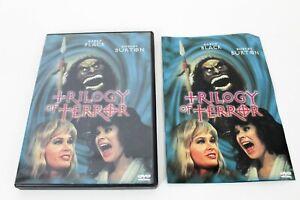 TRILOGY OF TERROR 1975 Dan Curtis DVD Anchor Bay 1999 OOP Karen Black