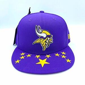 New Era 59 50 NFL 2019 NFL Draft Minnesota Vikings City Flag Flatbrim Hat Size 7