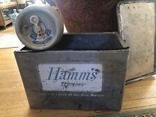 Vintage Hamm'S Beer aluminum Cromstrom cooler & Keg Minneapolis Mn