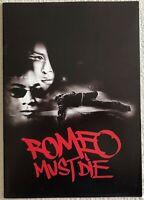 Romeo Must Die 2000 Movie Program Book Brochure Pamphlet Jet Li Japan