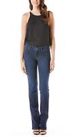 LEVEL 99 Sasha Mid Rise Bootcut Flare Denim Jeans Pants Cache Blue 27 $135 #117