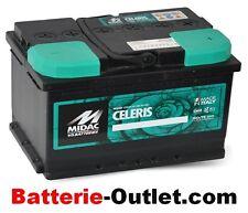 Autobatterie Starterbatterie Midac Celeris 12V 44Ah 360A