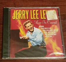 Live in Concert Jerry Lee Lewis [Germany Imp. - Pegasus PEG CD217 - 1999] - NEW