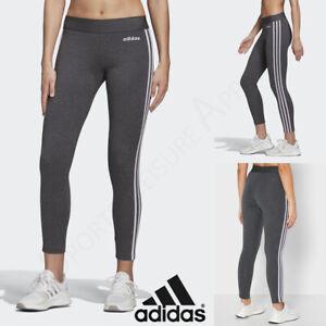 ADIDAS Womens Leggings Ladies Gym Yoga Fitness Pants Size 12 14 16 18 20 M L XL