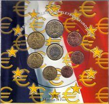 001 - COFFRET BU - EUROS FRANCE - 2004 : sous blister
