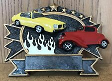 CAR SHOW TROPHY RESIN - FREE ENGRAVING