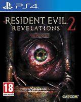 RESIDENT EVIL REVELATIONS 2 NUEVO PRECINTADO EN CASTELLANO PS4