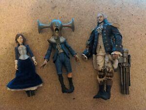 Bioshock Infinite Neca Loose Action Figures Elizabeth, patriot, boy of silence