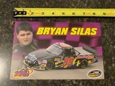 NASCAR Signed Bryan Silas Postcard – 25 cards ship for $9