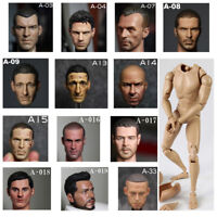 """In Stock 1/6 Scale V Series Male Head Sculpt + V Figure Body Sets 12"""" Hot Toys"""