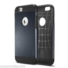 "Custodia Armor Nero / Ardesia Tpu Policarbonato per iPhone 6 4,7"" - Slim Cover"