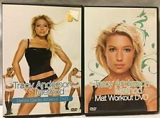 2 Tracy Anderson workout exercise DVD dancing dance cardio method mat Tracey