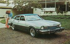1976 MERCURY COMET 4-DOOR SEDAN ADV CHROME P/C