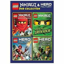 LEGO: Ninjago and Hero Factory DVD Collection 2014 by Warner . EXLIBRARY