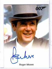 James Bond 2013 Autographs & Relic Roger Moore auto card