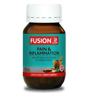 Fusion Health Pain & Inflammation 30Tabs Willow Bark