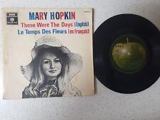 PS    MARY HOPKIN   ---LE TEMPS DES FLEURS    ***VERY RARE/APPLE***