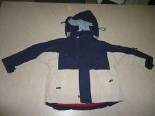 Manteau bleu/gris BBL T 5-6 ans Doublure amovible