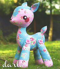 Darla - Sewing Craft PATTERN - Soft Toy Deer Bambi Fawn
