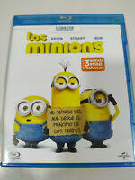 Los Mimions + 3 Mini Peliculas - Blu-Ray Español Ingles
