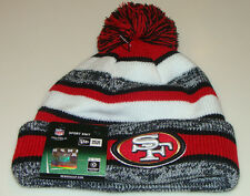 San Francisco 49ers Knit On Field New Era Hat Cap Toque Beanie Player Sideline