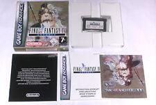 """Spiel: FINAL FANTASY IV ADVANCE """" KOMPLETT OVP für den Gameboy Advance + SP"""