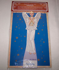 """""""GABRIELLA"""" Angels Through The Ages Paper Doll 8 Costumes Shackman"""