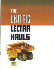 Equipment Brochure - Lectra Haul - Unit Rig Mining Dump Trucks c1979 (E3903)