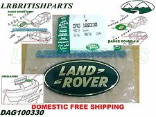 LAND ROVER FRONT GRILLE NAME PLATE R ROVER LR3 FREELAND SPORT OEM DAG100330 NEW