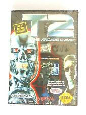 Sealed Brand New Sega Genesis Game T2 The Arcade Game