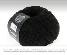 Cool Wool Merino superfein Lana Grossa Fb 444 Anthrazit