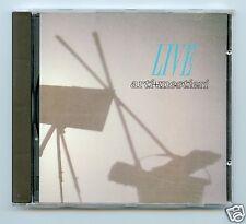 Arti + Mestieri/Live (1990 Italian Release)  NEW! PROGRESSIVE
