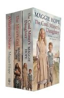 Maggie Hope 3 Books Romance Family Saga Wartime Nurse Coal Miner's Daughter New