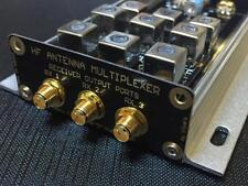 HF Antenna Multiplexer - feed 3 receivers with one wideband antenna