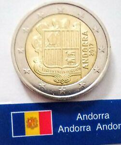 ANDORRA - 2 EURO DIVISIONALI ANNO 2017-  Tiratura 22.000 - MONETA NON COMUNE.