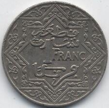 1921-1924 Morocco 1 Franc***Collectors***High Grade***