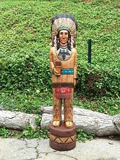 John Gallagher Carved Wooden Cigar Store Indian 5 ft.Tall Thunderbird in stock !