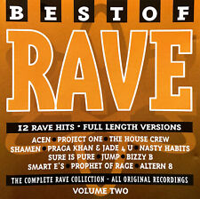 Compilation CD Best Of Rave Volume 2 - UK (EX+/VG+)