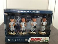 Mini Bobs Baseball Bobble heads Forever Collectibles NEW YORK YANKEES