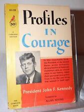 PROFILES IN COURAGE John F. Kennedy JFK Vintage Pocket PB 1963 Pulitzer GC 238