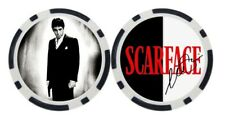 AL PACINO / SCARFACE - GOLF BALL MARKER / POKER CHIP  ***SIGNED***