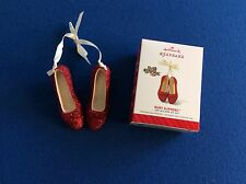 The Wizard of Oz: Ruby Red Slippers -2014 Hallmark Keepsake ornament in orig box