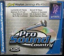 Karaoke CD+G - Sing Waylon Jennings #1's - Priddis Pro Sound 1562G