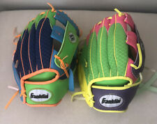 Franklin Sports Baseball Glove Kids Meshtek Bundle Size 9.5