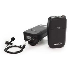 Rode RodeLink Filmmaker Kit Wireless Lavalier Microphone/Receiver System - DSLR