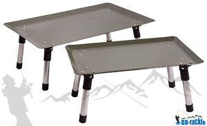 XXL Bivvy Table  50 x 30 cm + Tasche Giant Bivy Table Carp Karpfen Angel Tisch