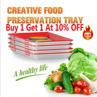 5pcs Creative Food Preservation Tray Healthy Kitchen Tool Storage Container Set!