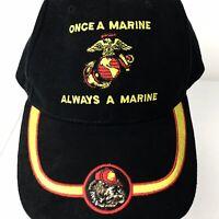 Marine Eagle Crest Ball Cap Semper Fi USMC Hat