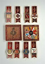 USSR Russia Pin . vintage Soviet badge. Hockey 1979. Full set of 10 items. RARE.