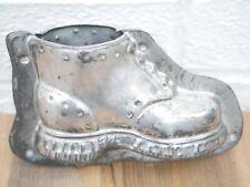 More details for obermann vintage/antique tin boot shoe chocolate 2 part mould